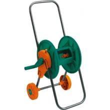 Катушка для поливочного шланга на колёсах FLO 1/2 (5/8-30м; 1/2-45м) (89335)