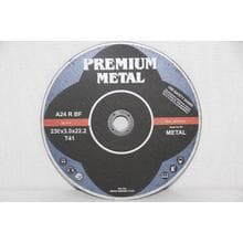 Диск отрезной Premium по металлу d230/3,0/22,2