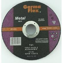 GF диск отрезной по алюминию d125/1,0/22,2