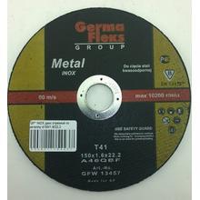Диск отрезной GermaFlex INOX по металлу d150/1,6/22,2