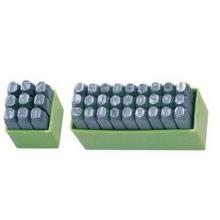 Клише (нумератор) BASS для нанесения букв на металлическую поверхность (6мм) 27шт