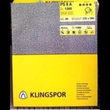 Бумага шлифовальная на бумажной основе Р40 Klingspor 115/280мм с отв. (комплект 10шт)