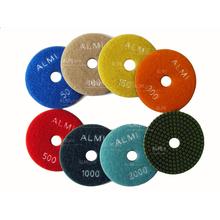 Алмазный гибкий диск на липучку SEB/Krzemex Черепашка d110 Р3000 (с/без воды)