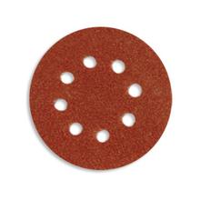 Шлифовальные кружки D-SAITAC VEL d125 (Корунд) Р150 с 8 отв. A-E
