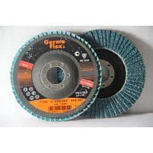 Круг лепестковый тарельчатый d115/22,2 А36 (выгнутый) (цирконий)