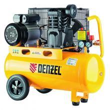 Компрессор воздушный DKV2200/100,Х-PRO 2.2 кВт, 400 л/мин, 100л// Denzel