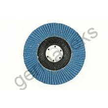 Круг лепестковый тарельчатый d180/22,2 Р100 (плоский) (цирконий)