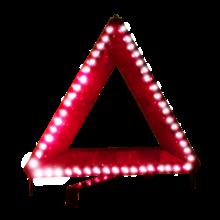Знак аварийной остановки BASS WUL-2844 + фонарь (12V)