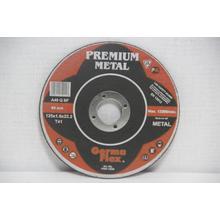 Диск отрезной Premium по металлу d125/1,6/22,2
