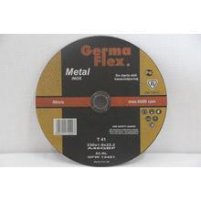 Диск отрезной GermaFlex INOX по металлу d230/1,9/22,2