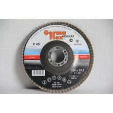 Круг лепестковый тарельчатый d125/22,2 А40 (плоский) (корунд)