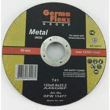 GF INOX диск отрезной по металлу d125/0,8/22,2