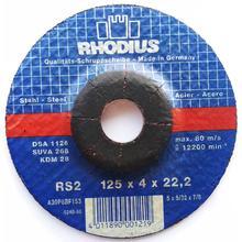 RHODIUS/GermaFlexДиск зачистной  по металлу d125/4,0/22,2