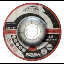 DRONCO INOX диск отрезной по металлу  AS46  d125/1,6/22,23