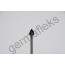 Коронка по стеклу и керамике d12мм (перьевая) GermaFlex/SEB