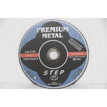 Premium диск отрезной по металлу d180/3,0/22,2