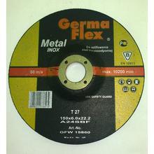 Диск зачистной GermaFlex INOX по металлу d150/6,0/22,2