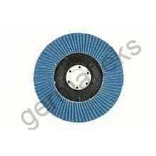Круг лепестковый тарельчатый d180/22,2 Р80 (плоский) (цирконий)