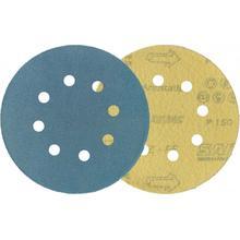 Шлифовальные кружки SAIT d125 Р400 с 8 отв. (Цирконий)