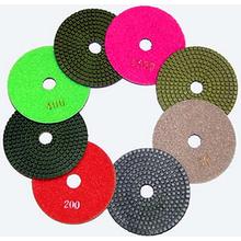 Алмазный гибкий диск на липучку SEB/Krzemex Черепашка d110 Р1500 (с/без воды)