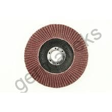 Круг лепестковый тарельчатый d150/22,2 А40 (плоский) (корунд)