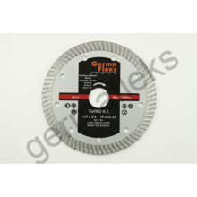 Алмаз GermaFlex/Seb d125/2,2/10/22,2 турбо (мелкий зуб) (ORANGE)