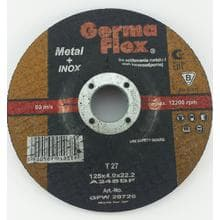 GF INOX диск зачистной по металлу d125/4,0/22,2