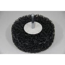 Нейлоновый шлифовальный диск GermaFlex d100/26/6 в дрель (Карбит/кремния)
