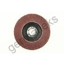 Круг лепестковый тарельчатый d150/22,2 А100 (плоский) (корунд)