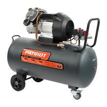 Компрессор Patriot поршневой масляный Professional 100-400, 400 л/мин, 8 бар, 2200 Вт, 100 л, быстро